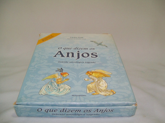 Livro O Que Dizem Os Anjos - Oráculo Astrológico Sagrado