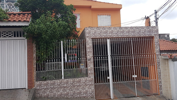 Sobrado De 3 Quartos + Casa No Fundo - 185 M²