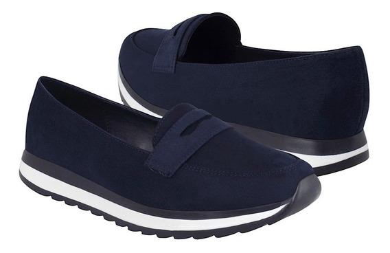 My Clasben Zapatos Dama Casuales 153014 Suede Marino