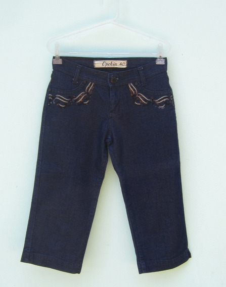 Calça Jeans Feminina Capri Calcas Femininas