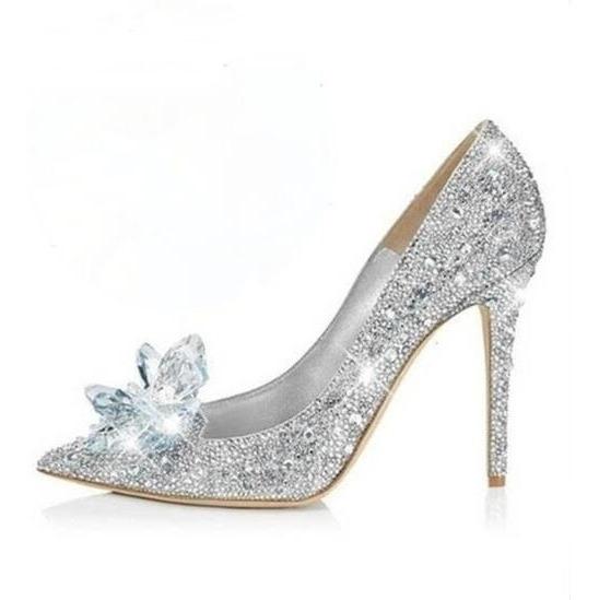 Sapato Importado Cinderela - Cristais
