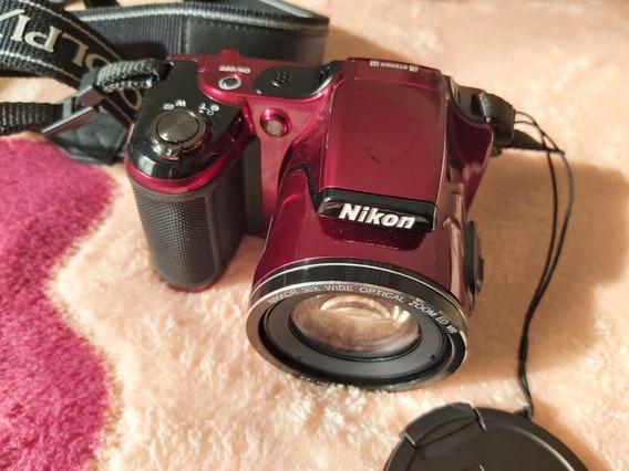 Câmera Nikon Coolpix L820 Full Hd 16mp Zerada