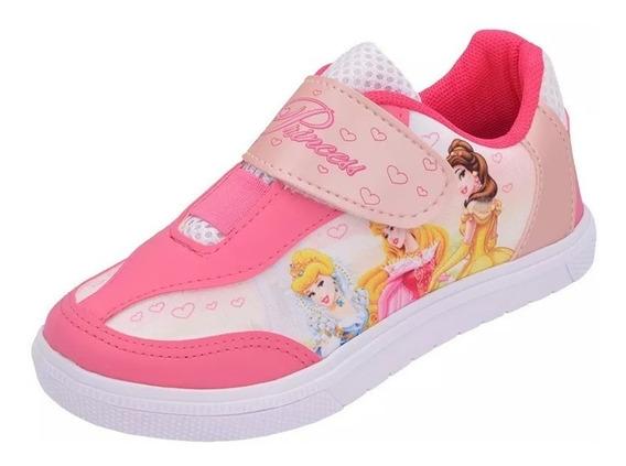Tênis Infantil Personagens Princesas Disney
