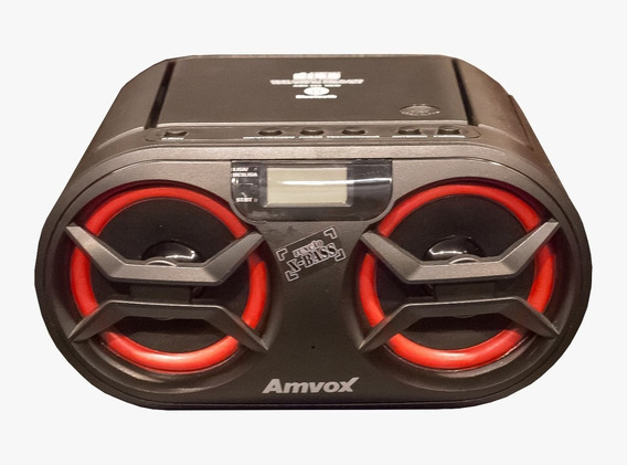 Cd Player Amvox Amc 595 New Bt 15w Bluetooth