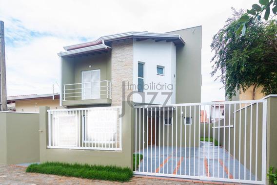 Casa Residencial À Venda, Residencial Terras Do Barão, Campinas. - Ca1704