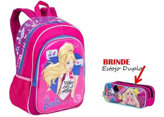 Mochila G Barbie 17x + Brinde Barbie Sestini
