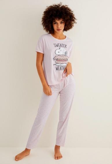 Pijama Para Dama Diseño Snoopy Sweater Weather