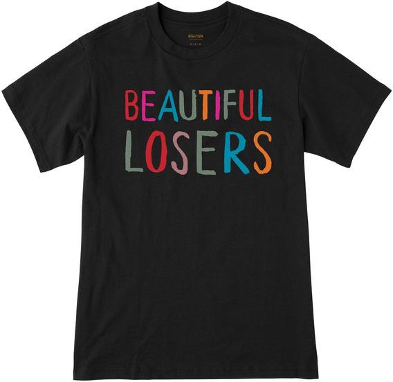 Playera Rvca, Mod. Beautiful Losers Ss, Color Blk.