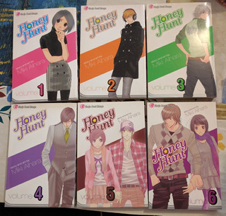 Lote Manga Honey Hunt 1-6 Shoujo Oferta Viz Inglés