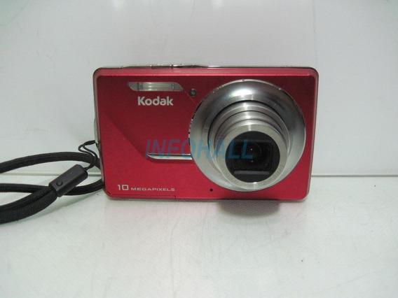 Câmera Kodak Easyshare M420 Obturador Travado Lcd Bateria Ok