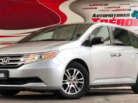 Honda Odyssey 3.5 Exl Minivan Piel Dvd Qc At