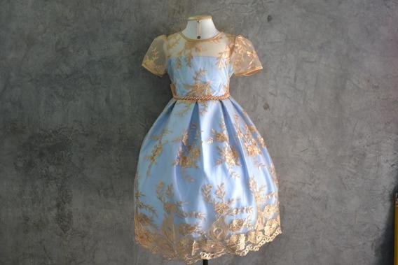 Vestido Infantil Festa, Casamento 15anos Luxo, Renda, Pérola
