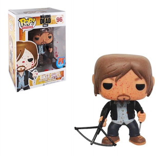Funko Pop! The Walking Dead Bloody Version Biker Daryl
