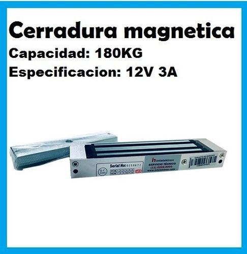 Cerradura Magnetica X180 12v 3a Fuerza 180kg Mdp