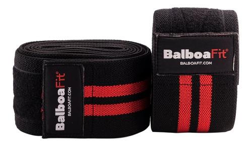 Imagen 1 de 2 de Vendas De Rodillas 200cm Balboafit Powerlifting Boxeo Gym