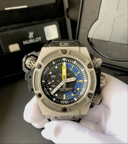 Hublot King Power Oceanographic 1000 , Ano 2015 , Completo!!