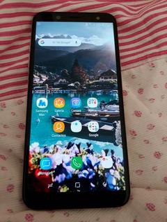 Samsung A6 Dorado Como Nuevo