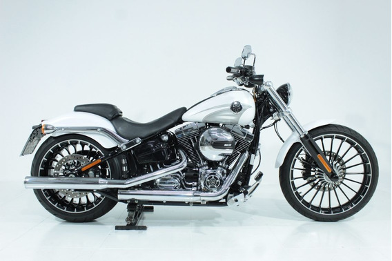 Harley Davidson Softail Breakout 2017 Branca