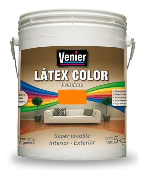 Latex Color Venier Premium Interior/ Exterior 5kg - Rex