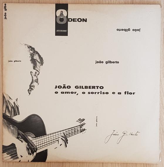 Lp Vinil - João Gilberto - O Amor, O Sorriso E A Flor - 1960