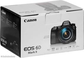 Camera Dslr Canon Eos 6d Mark Ii 2 + 24-105 Stm 1 Ano Gara