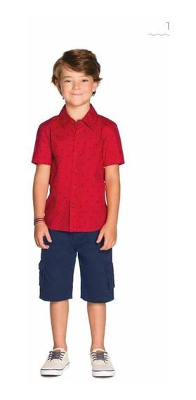 Conjunto Infantil Menino Camisa+colete+calça Pronta Entrega