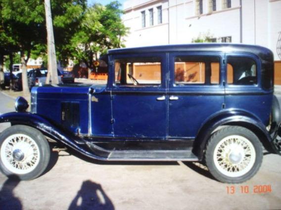Chevrolet 1930 - Unico ! En Funionamiento Y Con Papeles