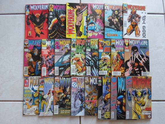 Wolverine Lote 22 Hqs N° 1,9,12,13,14, Etc Abril (black F.)