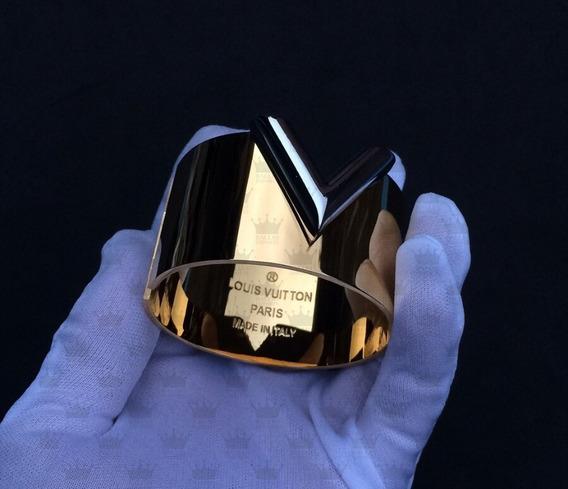 Pulseira Feminina Banhado Em Ouro 18k Luxo! + Frete Gratis!