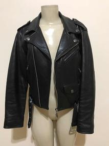Jaqueta 100 % Couro Feminina Harley Davidson Original - G