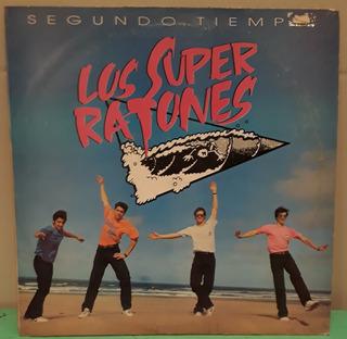 Los Super Ratones Segundo Tiempo Con Insert Lp Vinilo