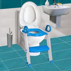 Assento Redutor Com Escada Azul - Clingo