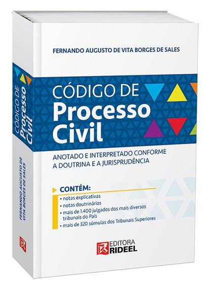 Código De Processo Civil Anotado E Interpretado Doutrinajuri