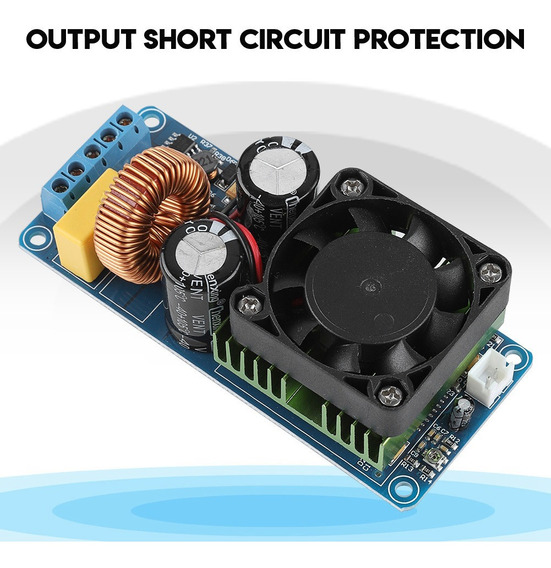 Irs2092s 500 W Mono Channel Digital Amplificador Placa Class