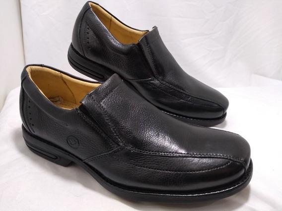 Sapato Masculino Numeros Especiais Preto 7110