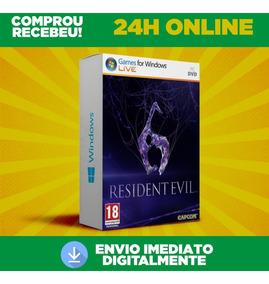 Resident Evil 6 - Pc Br + Envio Na Hora 0 Segundo