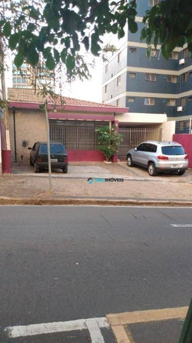 Casa Com 3 Dormitórios À Venda, 230 M² Por R$ 1.800.000 - Cambuí - Campinas/sp - Ca0972