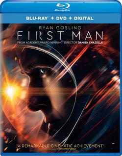 Blu-ray + Dvd First Man / El Primer Hombre En La Luna