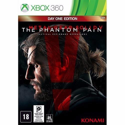 Jogo Metal Gear Solid V The Phantom Pain Xbox 360