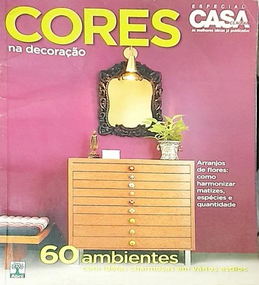 Revista Casa Claudia Especial- Cores Na Decoração