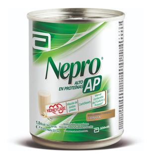 Nutrición Nepro Ap Vainilla Abbott Proteinas Lata 237 Ml