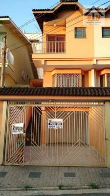 Sobrado Residencial À Venda, Vila Rosália, Guarulhos. - So0011