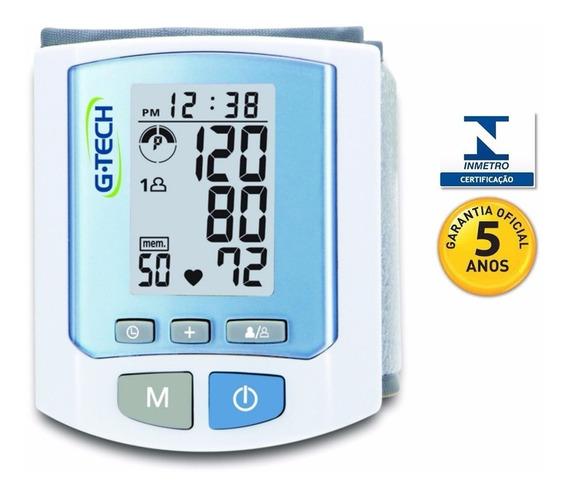 Aparelho Medidor De Pressão Digital Pulso Rw 450 G-tech