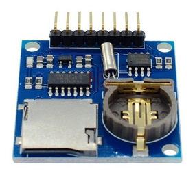 Módulo Sd Card Com Mini Logger Data Clock Arduino Raspberry