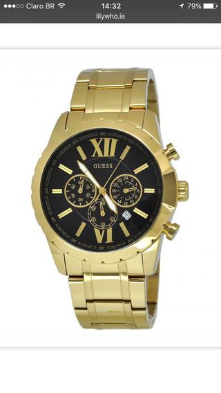 Relógio Gess Dourado