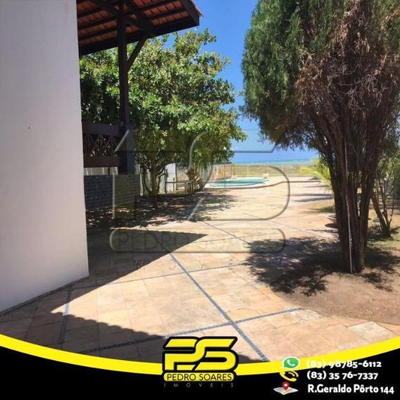 Casa Com 6 Dormitórios Para Alugar Por R$ 5.500/mês - Jardim Brasília - Cabedelo/pb - Ca0449
