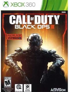 Call Of Duty Black Ops 3 Físico Xbox 360 Original