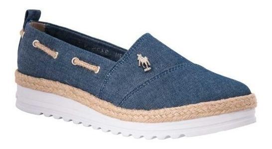 Zapato Hpc Polo 3635 Mezclilla Antiderrapante 3.5cm 170336