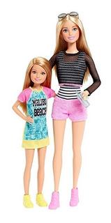 Muñecas Hermanas Barbie Original Y Stacie Paquete + 2 Unidad