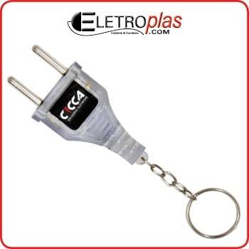 Chaveiro Identificador Voltagem Voltímetro Teste 110v / 220